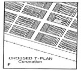 View figure: Coronation Townsite Plan