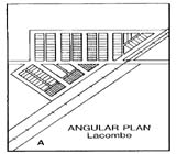 View figure: Lacombe Townsite Plan