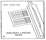 View figure: Millet Townsite Plan