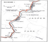 View Maps - Grand Trunk Pacific Railway, Track Consolidation: Scheme I