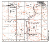 View Maps - Canadian Northen Alberta Railway, Huff's Spur