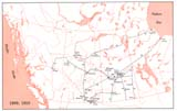 View Maps - Incorporated Railways Proposed for Western Canada, 1909, 1910