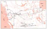 View Maps - Incorporated Railways Proposed for Western Canada, 1911
