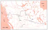 View Maps - Incorporated Railways Proposed for Western Canada, 1914–1960