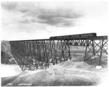 View photo: CP Train on High Level Bridge, Lethbridge Viaduct