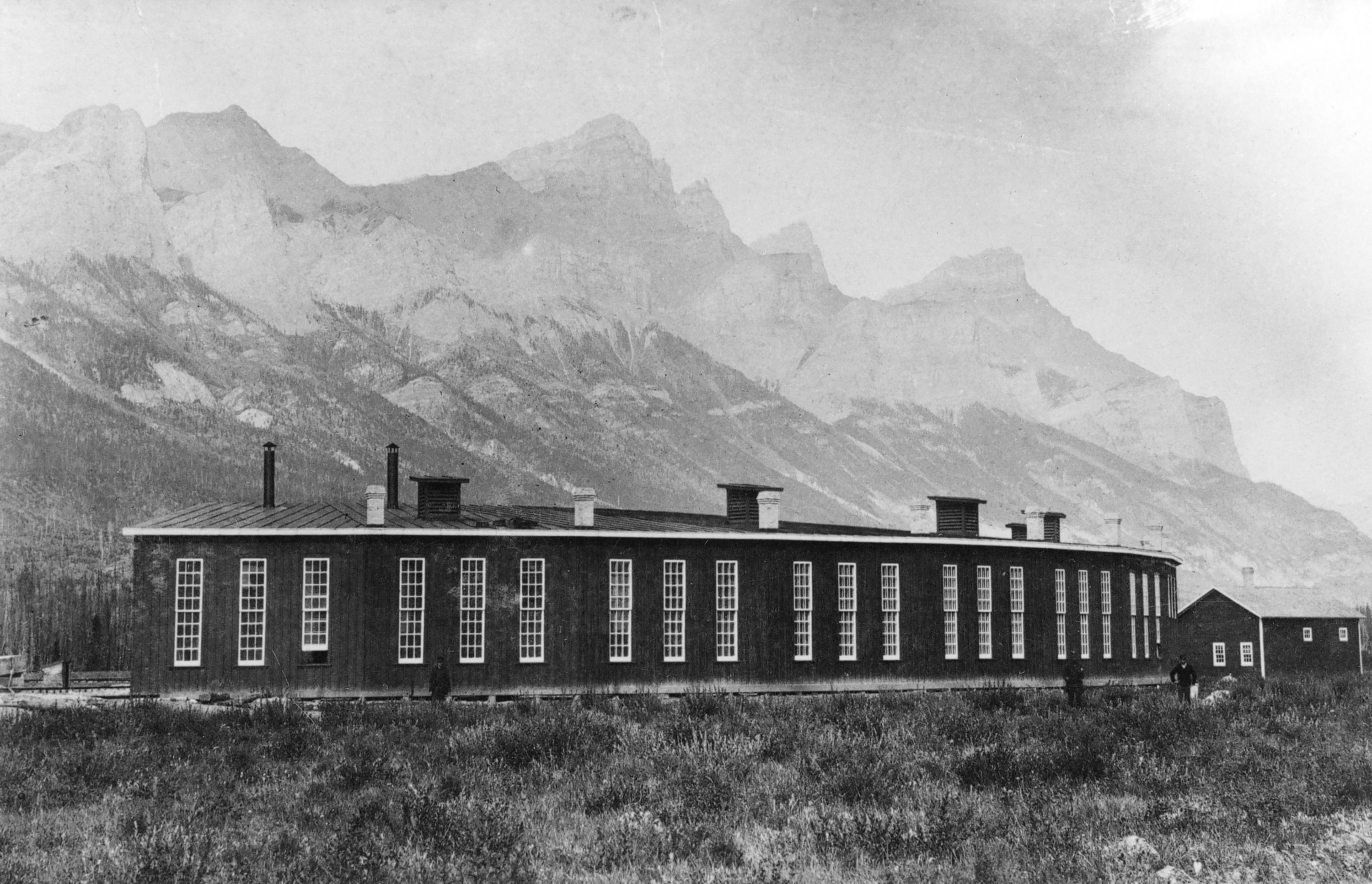 View Photos - CP Roundhouse at Canmore, Alberta