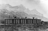 View photo: CP Roundhouse at Canmore, Alberta