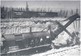 Steam Shovel on the Grand Trunk Pacific