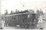 View photo: Streetcar on the Edmonton Interurban Railway
